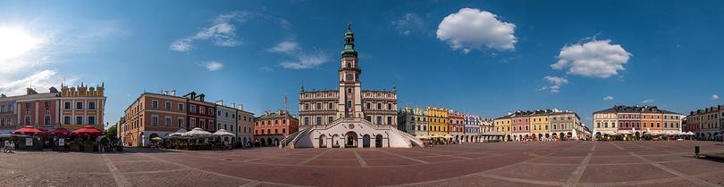 Rynek w Zamościu - Panorama sferyczna 360