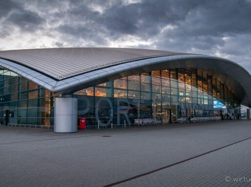 Terminal lotniska w Jasionce pod Rzeszowem
