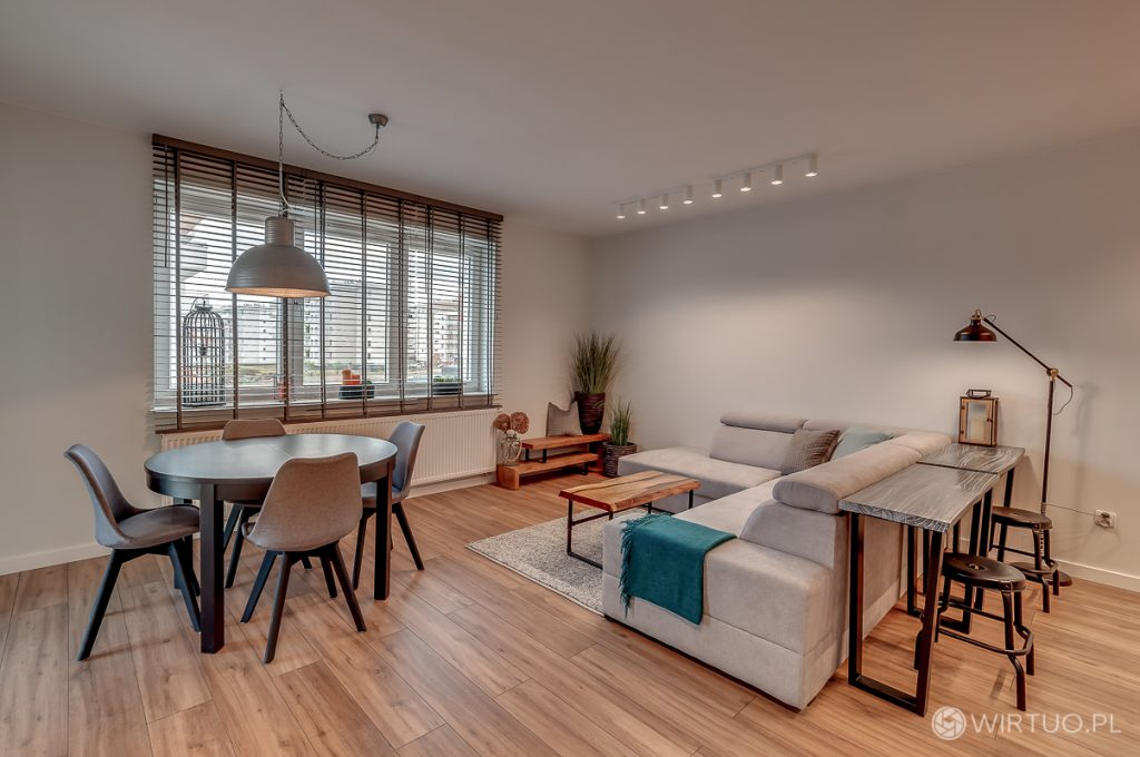 Fotografia wnętrza nowoczesnego mieszkania w Rzeszowie 2019
