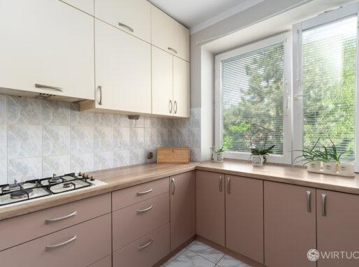 Kuchnia mieszkania w bloku