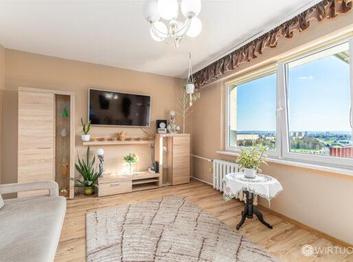 Salon mieszkania w wielkiej płycie